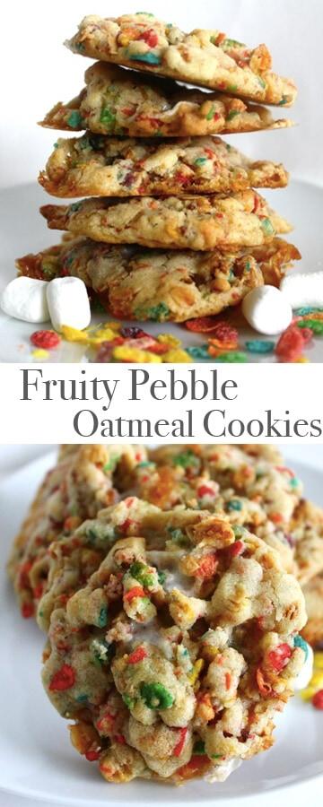Fruity Pebble Cookies Recipe