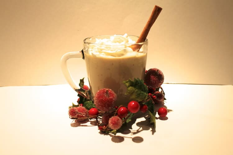 Homemade Eggnog Recipe for the Holidays