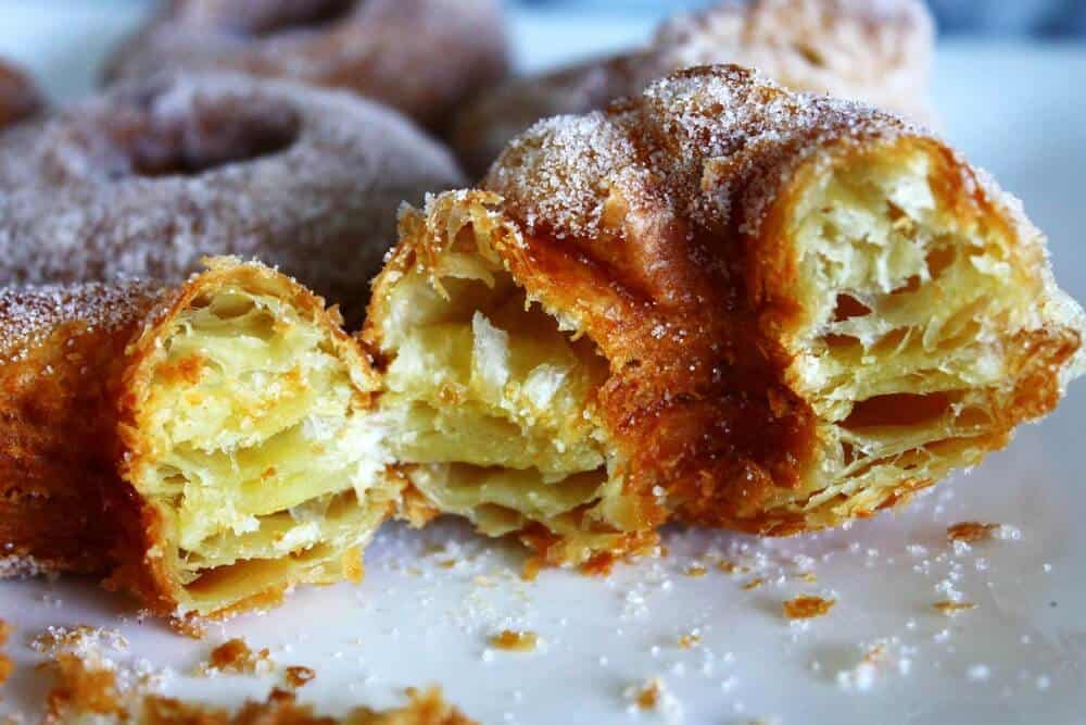 Cronut Recipe Made with Puff Pastry