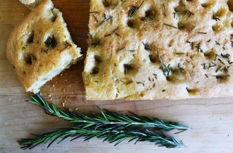 Easy Homemade Focaccia Bread