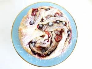 triple berry cinnamon swirl bread