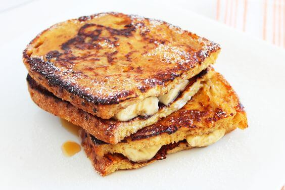 Banana French Toast Sandwiches