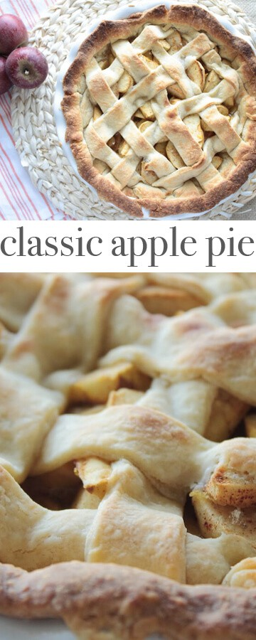 Apple Pie recipe via MonPetitFour.com