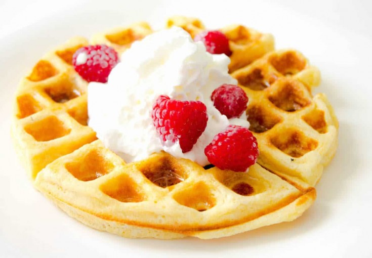 Classic Waffles - Mon Petit Four