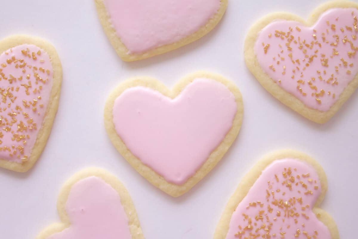 Heart-Shaped Sugar Cookies