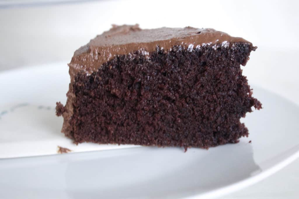 Chocolate Cake with Mocha Frosting - Mon Petit Four