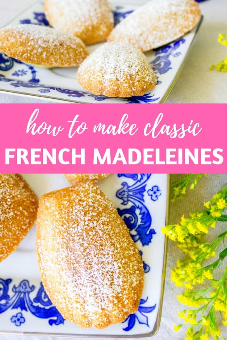 French Madeleines: Make these French butter cakes at home with this easy recipe! via MonPetitFour.com