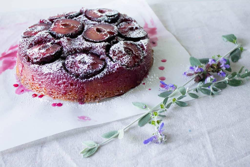 plum cake tatin image