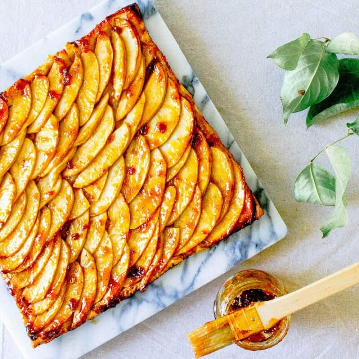 French Apple Tart Recipe An Easy French Dessert Mon Petit Four
