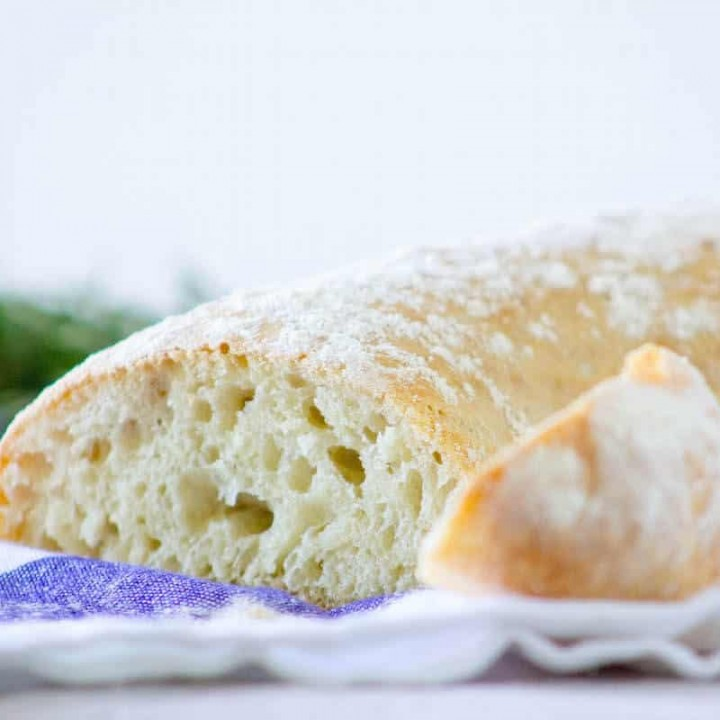 no-knead bread recipe with great texture