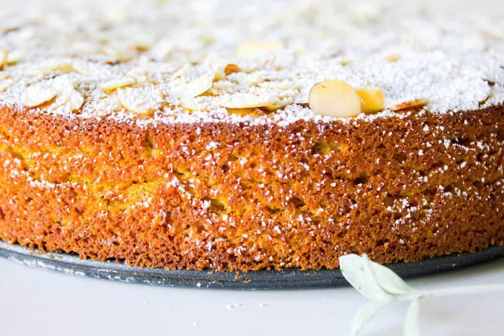 Boiled Orange Almond Meal Cake Recipe