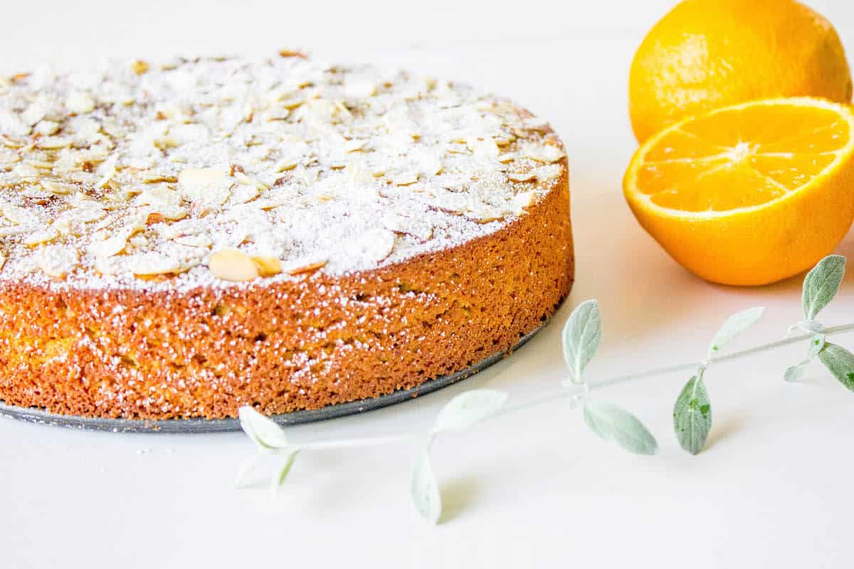 flourless orange cake recipe image