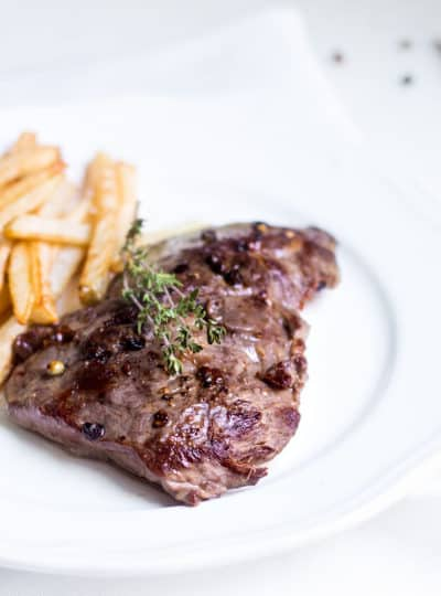 Steak Frites with Aioli Sauce: A French Bistro Favorite