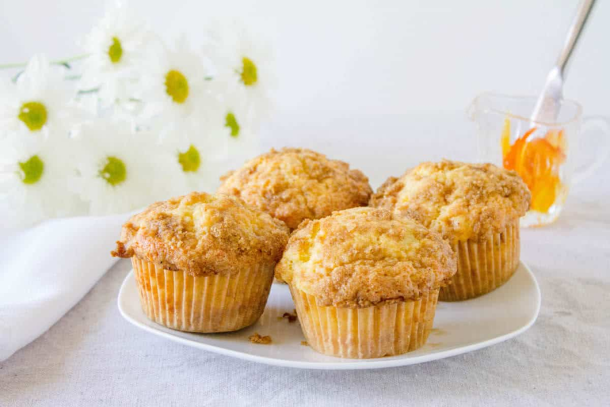 breakfast muffins recipe on a plate