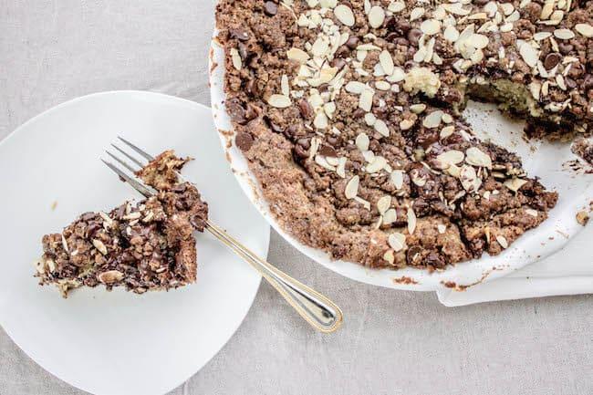 chocolate banana crumb cake