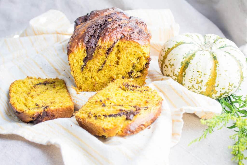Pumpkin Brioche Gets All Decked Out Recipe — Dishmaps