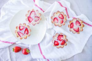 strawberry lemon friands
