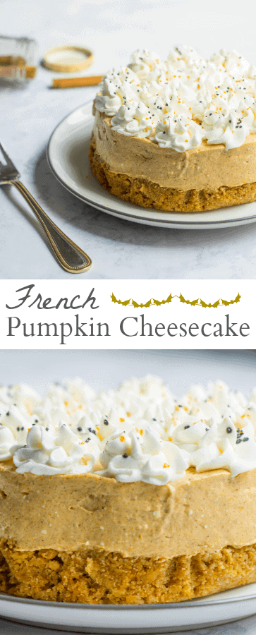 french pumpkin cheesecake