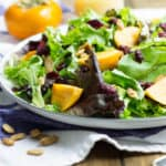 persimmon harvest salad