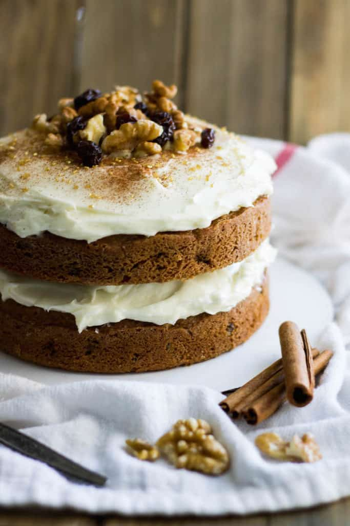 spiced walnut cake