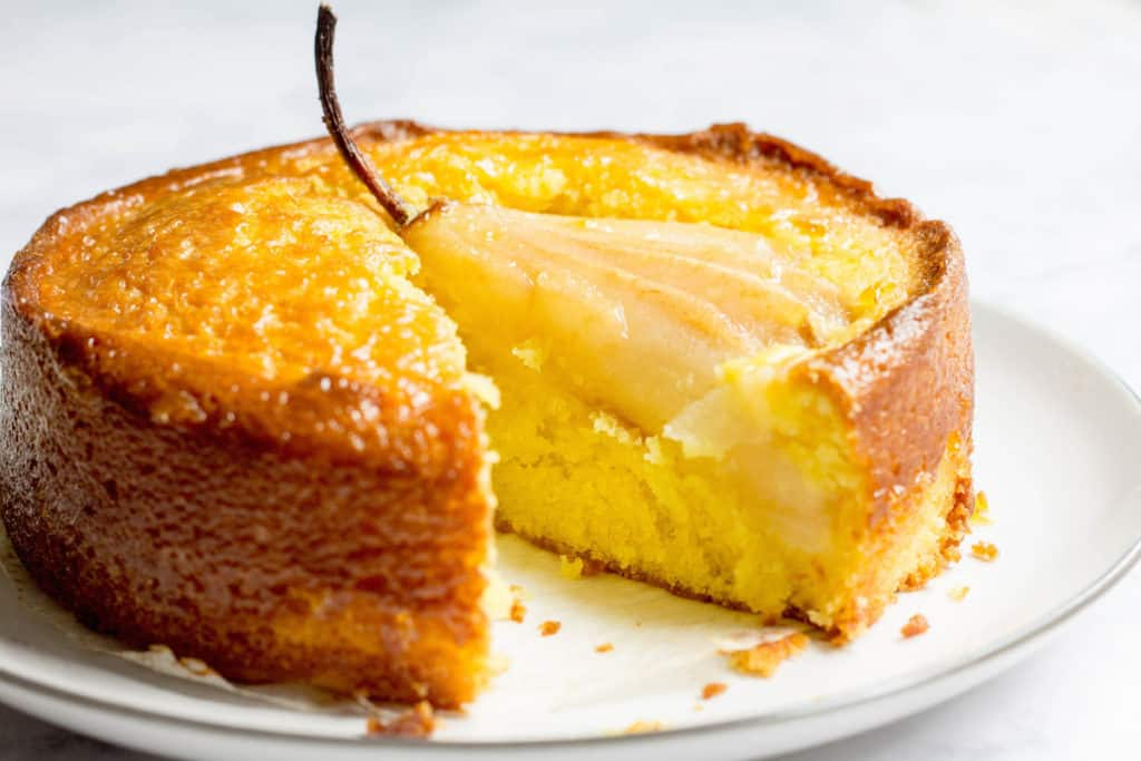 Pear Cake Using Cake Mix