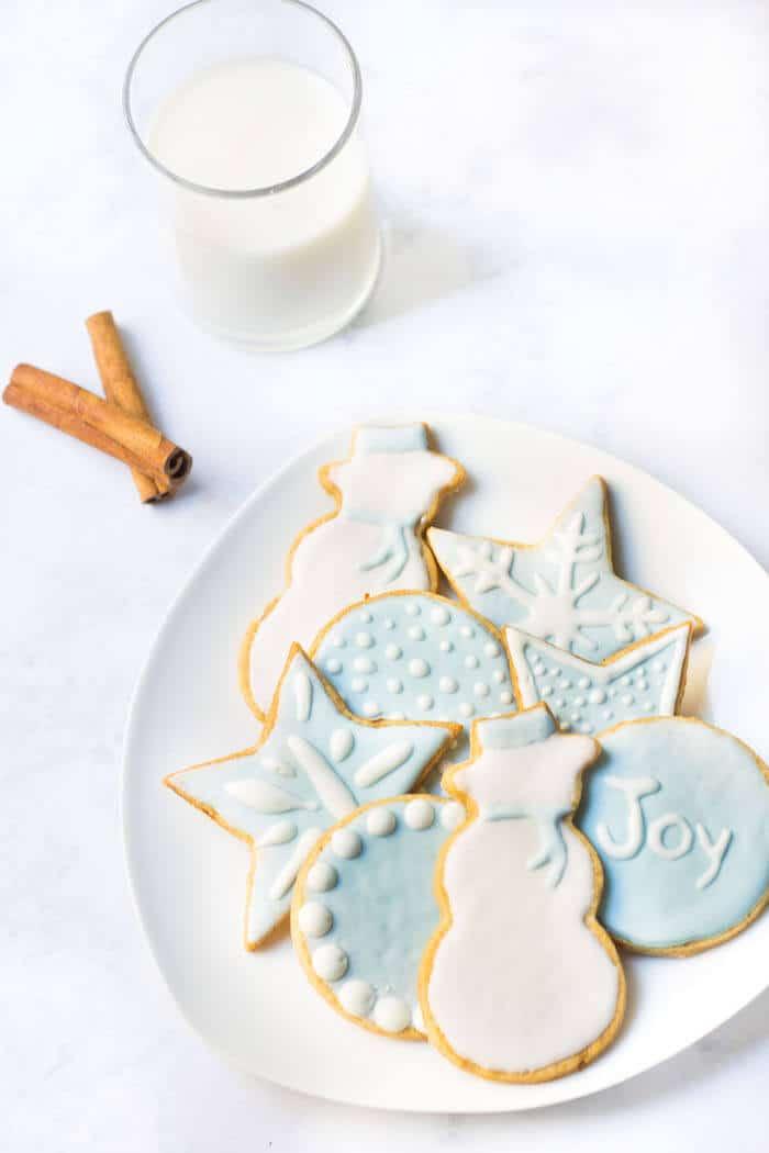 french christmas cookies sabls mon petit four