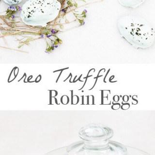 Oreo Truffle Robin Eggs