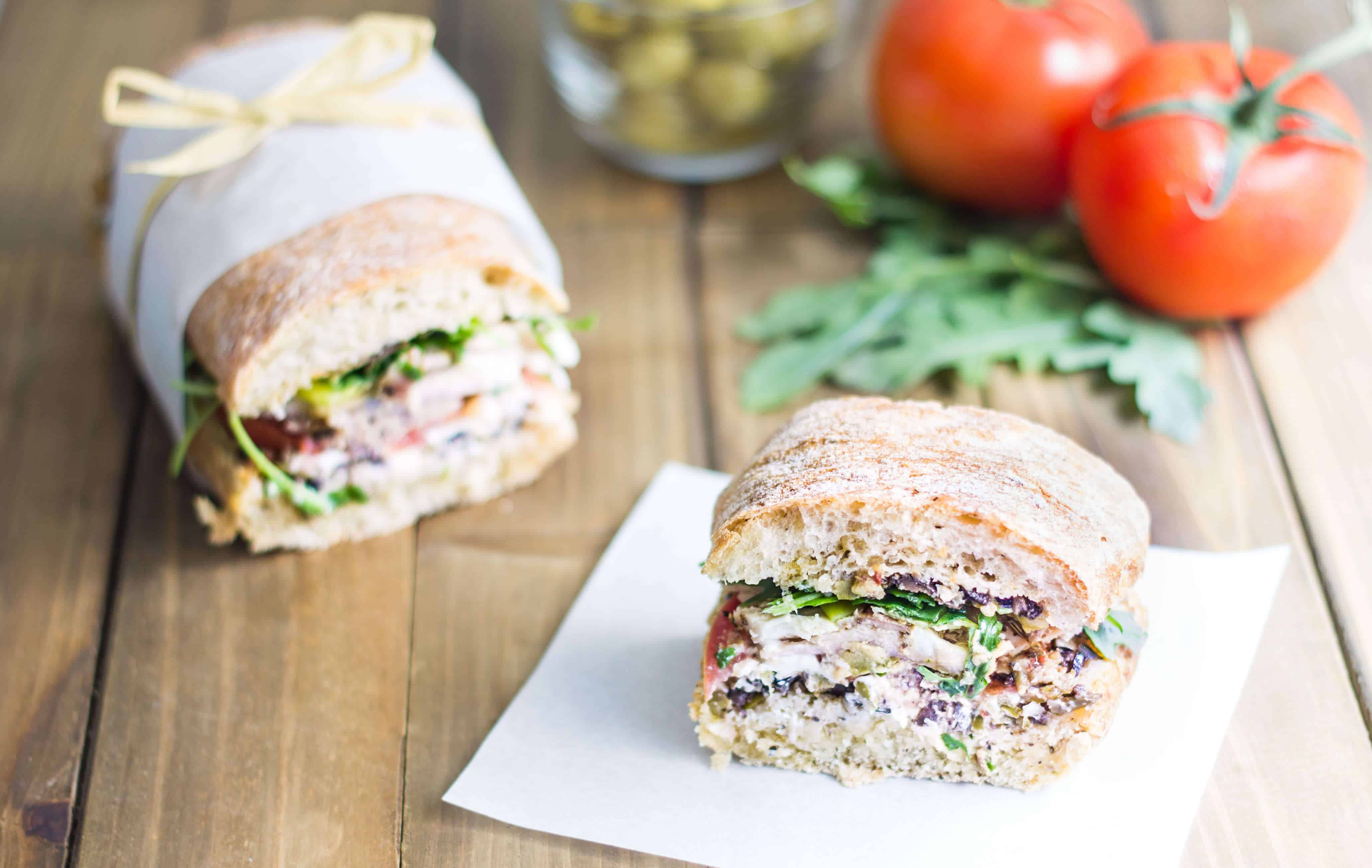 French Sandwich (Pan Bagnat)