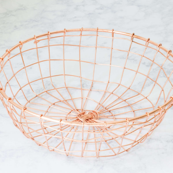 rose gold wire basket_2