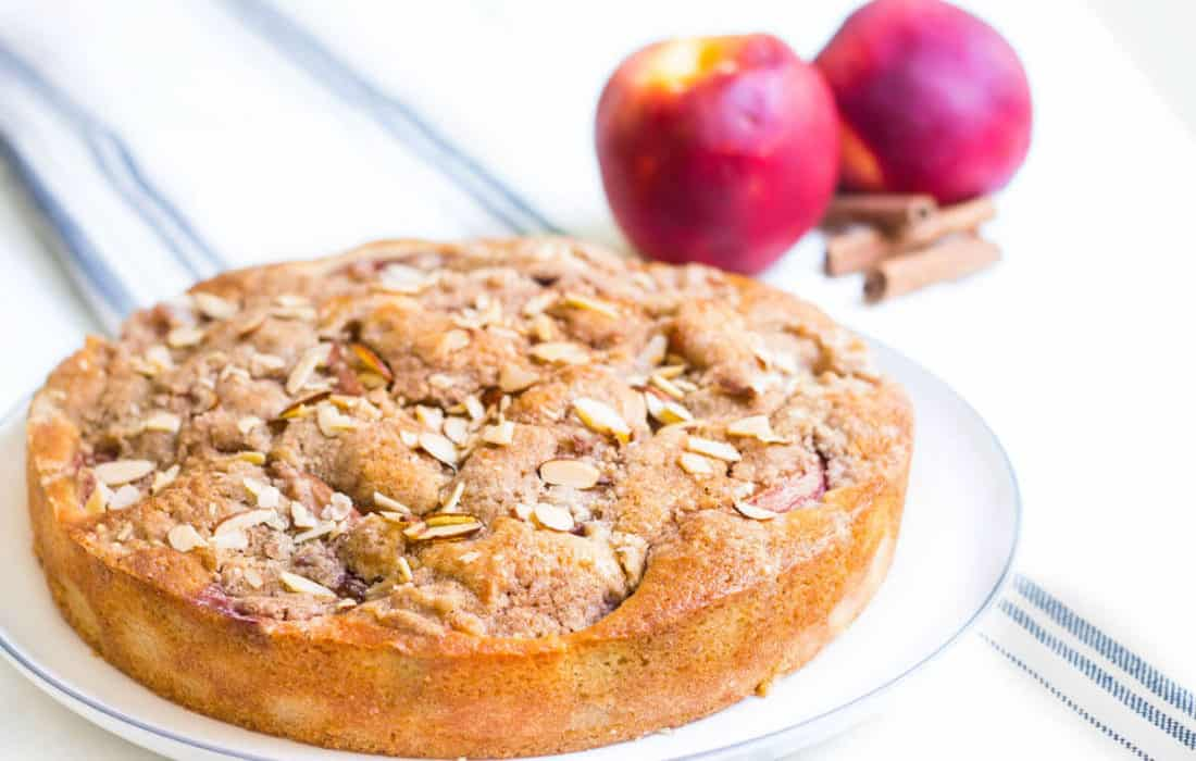 Nectarine Crumb Cake – A Sweet Summer Surprise