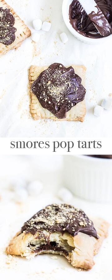 S'mores Pop Tarts. Recipe via MonPetitFour.com