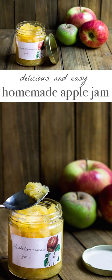 Homemade Apple Jam Recipe via MonPetitFour.com
