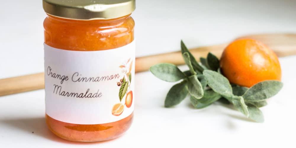 Orange Marmalade Recipe (Orange Jam)