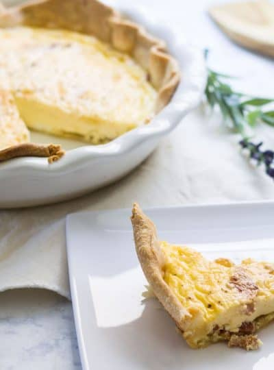 Quiche Lorraine Made for Easy Entertaining