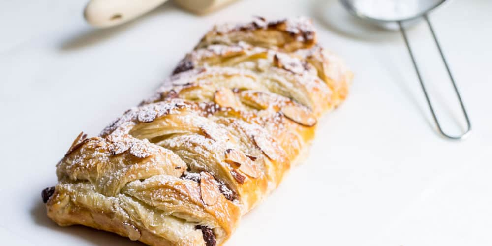 Chocolate Pastry Braid (La tresse au chocolat)
