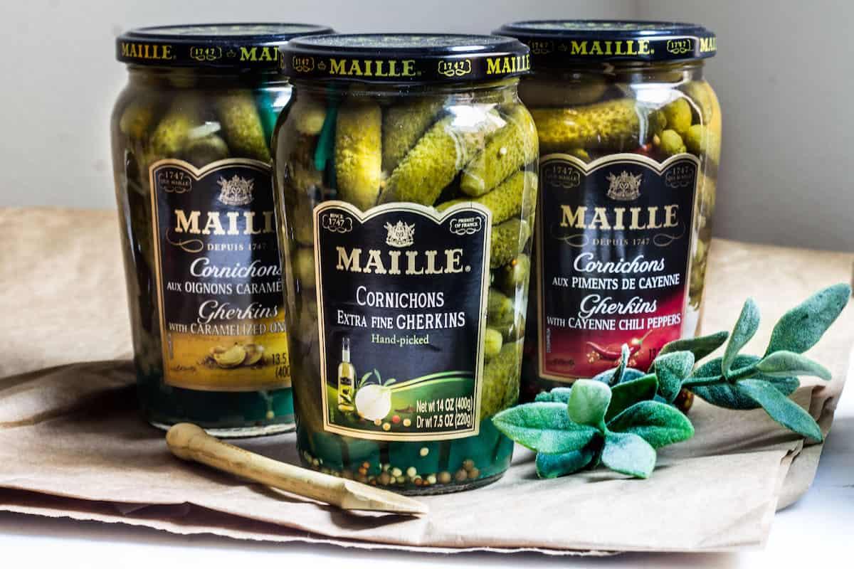 Flavor Boosters: Maille cornichons via MonPetitFour.com