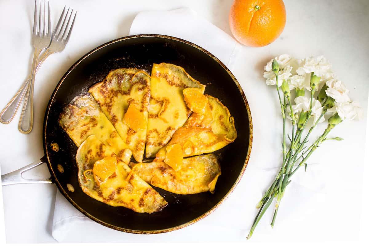 Recipe crepes suzette sauce