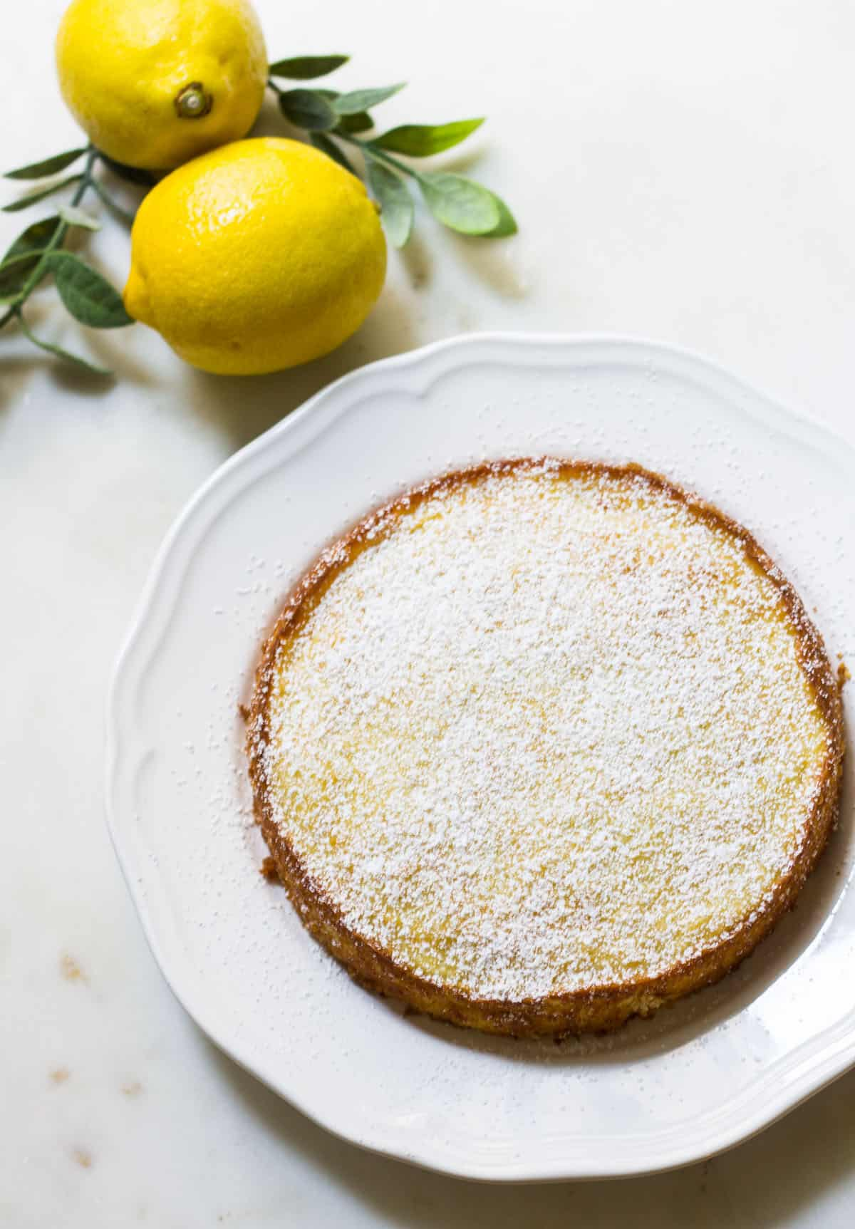Strawberry Vanilla Bean Buttermilk Cake