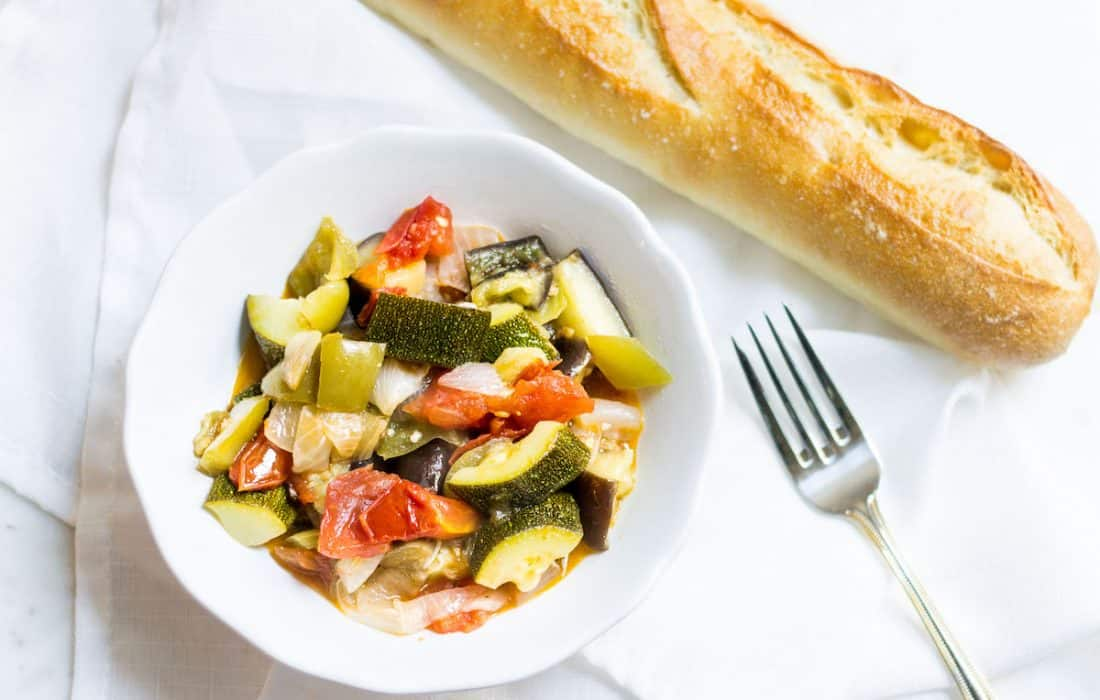 Easy Ratatouille: French Vegetable Stew