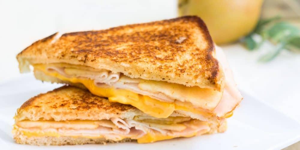 Turkey-Apple Grilled Cheese Sandwich