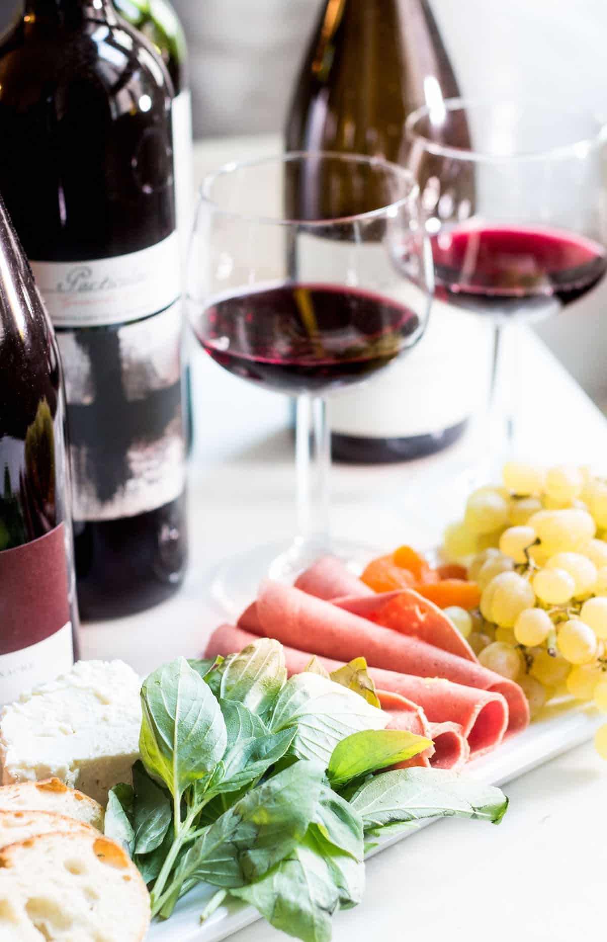 Mediterranean Platter + Garnacha/Grenache Wines