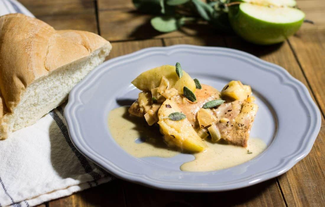 Chicken Normandy (Poulet à la Normande)