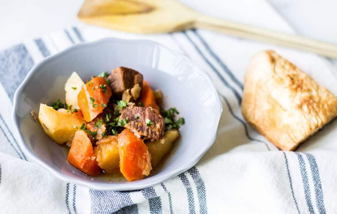 Instant Pot Beef Stew with Carrots and Potatoes