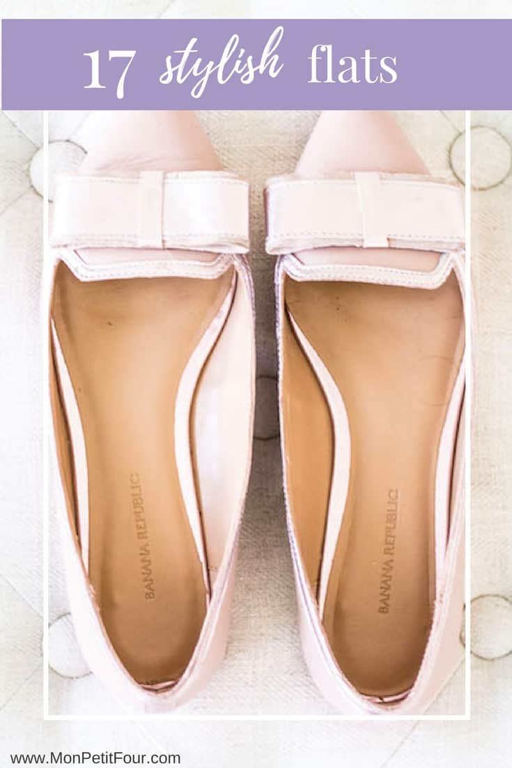 17 Stylish Flats inspired by French fashion and the Parisian wardrobe. via MonPetitFour.com