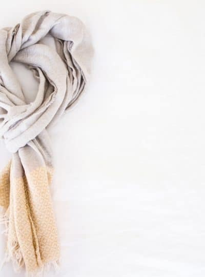 Parisian Scarf: How to Tie A Scarf like A French Woman