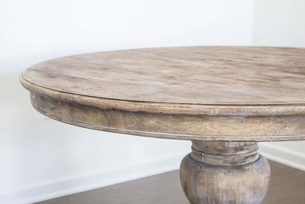How to Strip Paint Off Wood French Style Dining Table