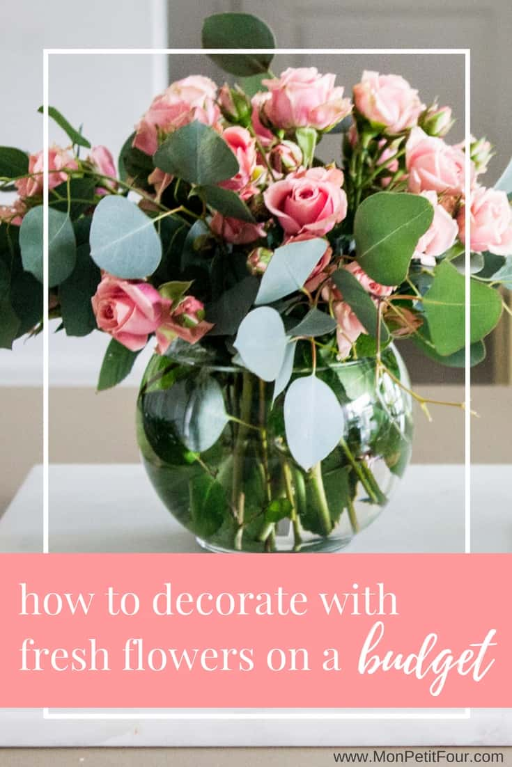 Small floral arrangements mon petit four decorating your home with fresh flowers on a budget via monpetitfour mightylinksfo