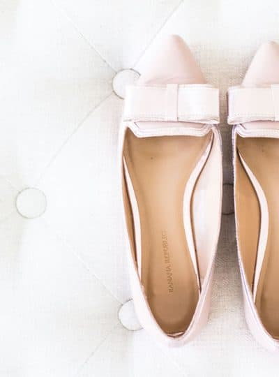 Stylish Flats pink pointed toe