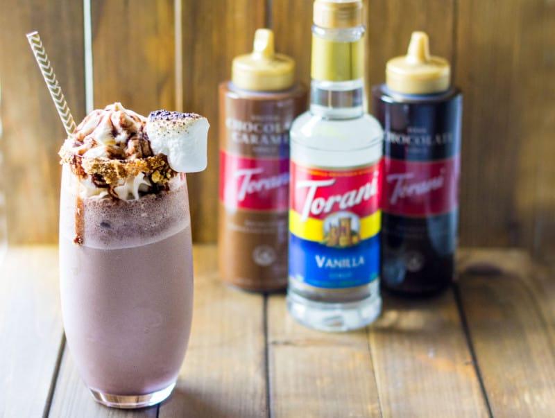 S'mores Milkshake Recipe
