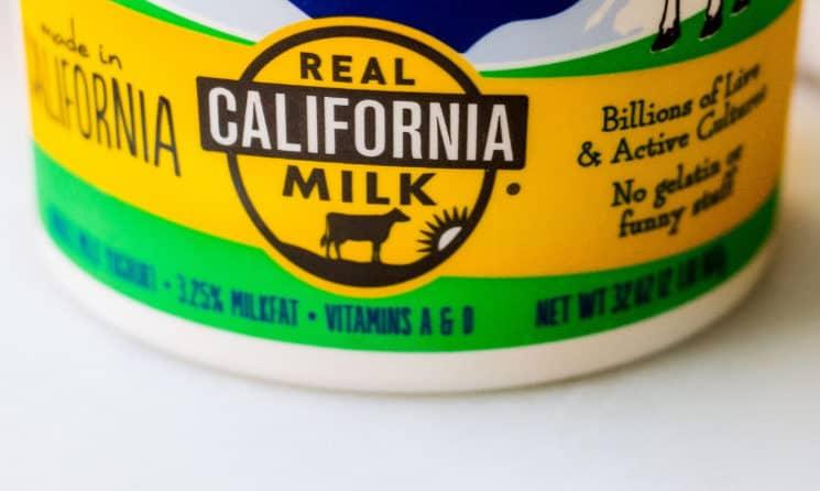 Real California Milk seal